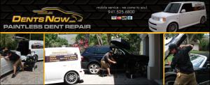 Sarasota mobile paintless dent repair / removal Florida