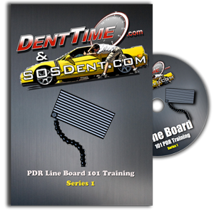 Paintless Dent Repair Training Using a Line Board